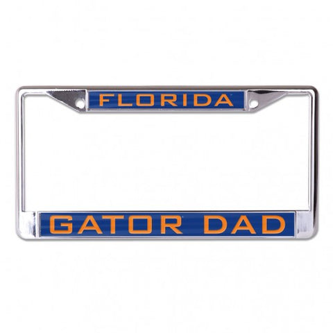 Gator Dad Metal Inlaid License Frame