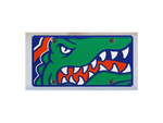 Florida Gators Mega License Plate Inlaid