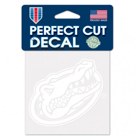 Gator Head White Decal 4x4