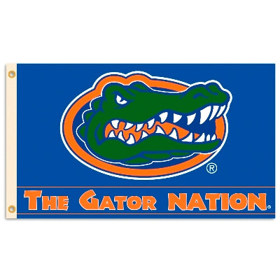 The Gator Nation 3X5 Flag