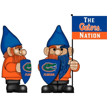 University of Florida Flag Holder Gnome