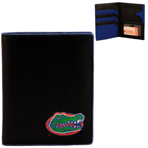 Florida Gators Black Leather Hipster Wallet