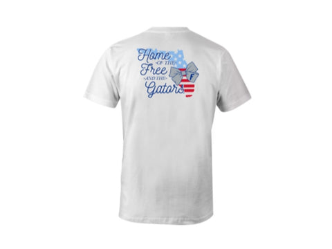Florida Gators Home of the Free & Gators Women's T'Shirt