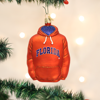 Old World Christmas Gator Hoodie Ornament