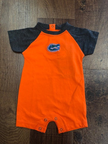 UF Infant Orange Romper