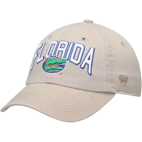 Florida Gators Adjustable Khaki Hat
