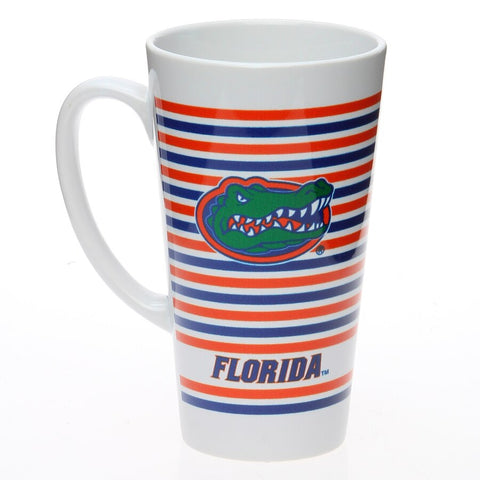 Florida Gators Striped Latte Mug