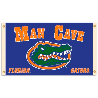 Florida Gator Man Cave 3X5 Flag