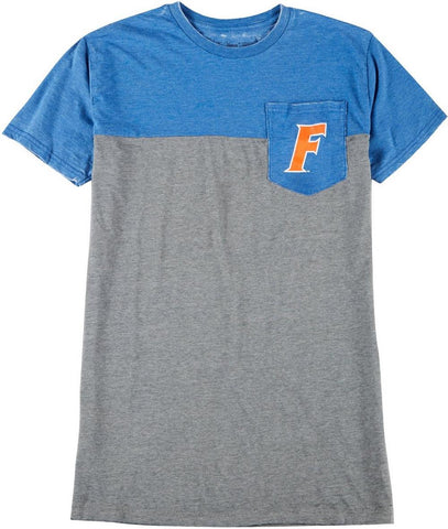 Florida Gators Men's Grey & Blue Pocket T'Shirt