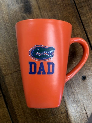 "Gator Ceramic ""DAD"" Coffee Mug"