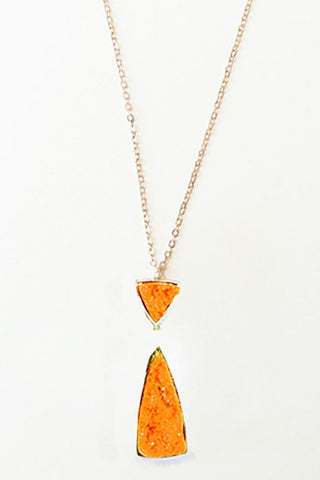 Women's Gator Orange Necklace