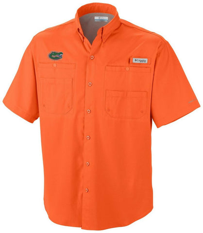 Florida Gators Men's Button Down Shirt - Orange
