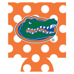 Florida Gators Orange & White Dot Can Hugger