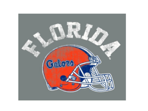 Florida Gators Men's Retro Football Helmet T'Shirt