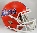 Florida Gators Riddell NCAA Full Size Deluxe Replica Speed Football Helmet