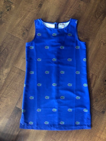 Gators Royal Blue Dress