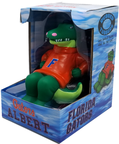 Albert The Alligator Rubber Collectible