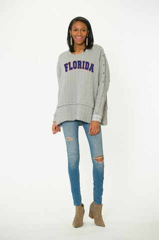 Florida Gators Quilted Sasha Tunic