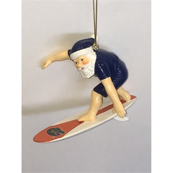 UF Surfin' Santa Ornament