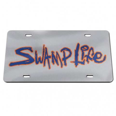 Swamp Life Acrylic Classic LIcense Plate