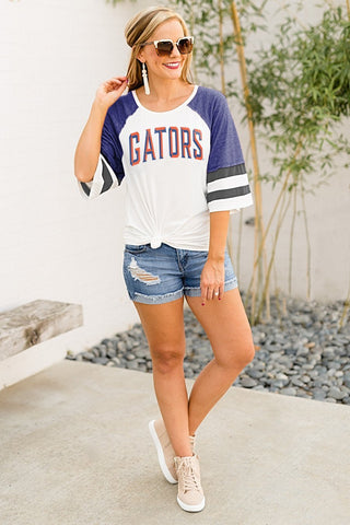 Florida Gators Women's Bell Sleeve Jersey T'Shirt