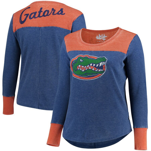 Gators Ladies Thermal Knit Long Sleeve Pullover