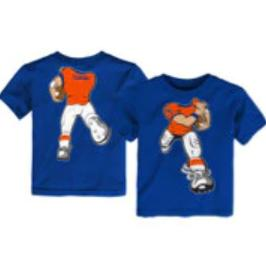 Toddler Florida Gators Blue Football Player T-Shirt