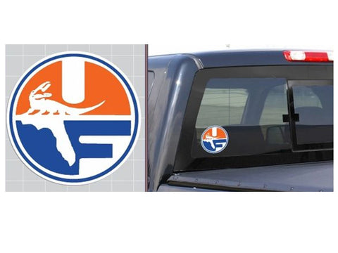 "UF Pell Shield 6"" Vinyl Decal"