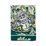 USF Bulls Mascot Suede Garden Flag by Justin Patten