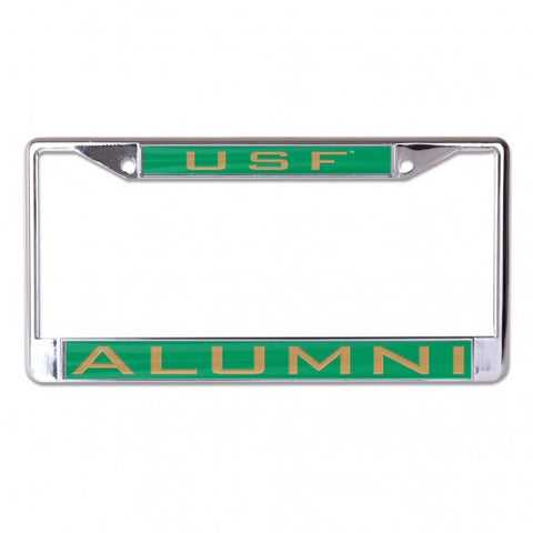 USF Alumni Inlaid Metal License Frame