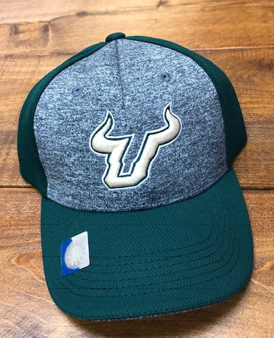 USF Bull Green and Grey Hat