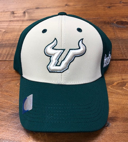 USF Bull Green and Gold Hat