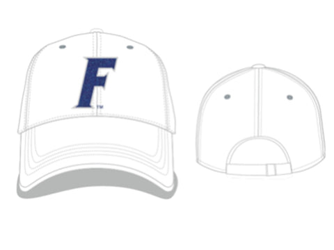 "Florida Gators Women's White Glimmer ""F"" Hat"