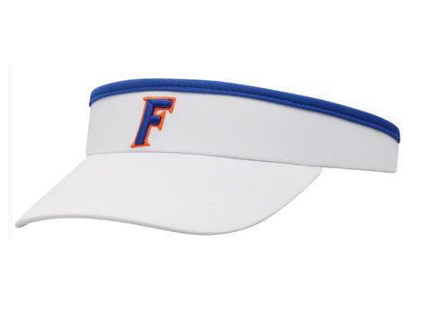Florida Gators White Slip-On Visor