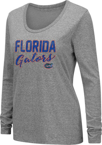 Florida Gator Women's Grey Long Sleeve T-Shirt