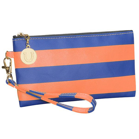 Florida Gators Striped Wristlet