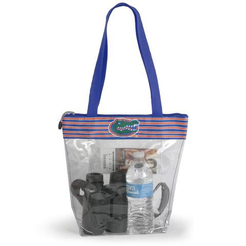 Gators Stadium Tote with Zipper Closure