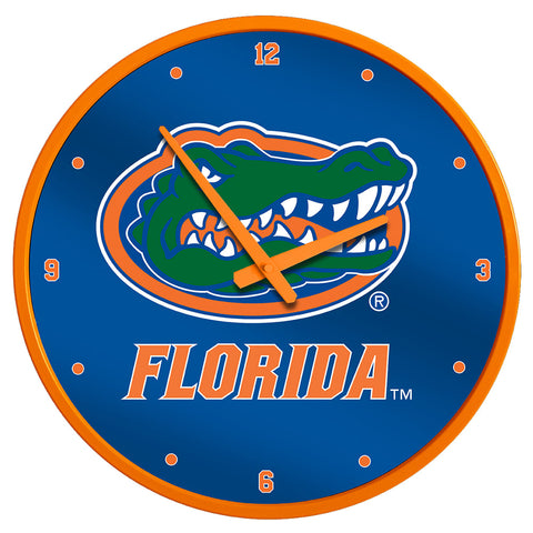 "Florida Gators 17"" Disc Wall Clock Primary Logo - SHIPS FROM PENNSYLVANIA"