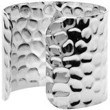 Women's Silver Hammered Gators Cuff
