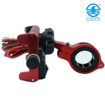 Claw-Grip Waterproof Mobile Holder (red)