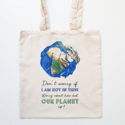 """Our Planet"" Tasche"