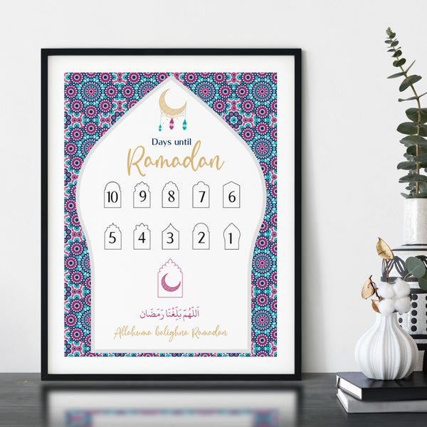 Days to Ramadan Countdown PEACEFUL NIGHT