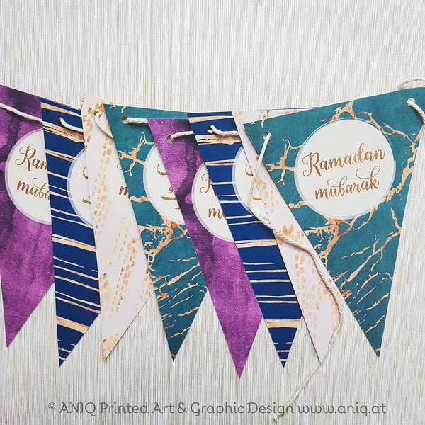 Ramadan Dekorations-Set SMARAGD Collection