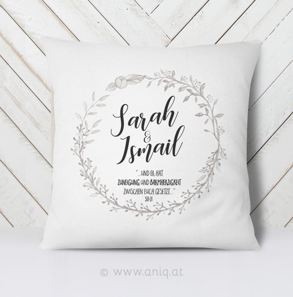 personalized Couplepillows ''Simple Love''