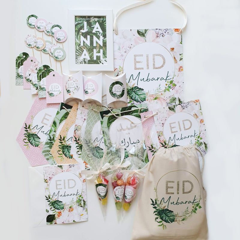 "Dekorationsset ""EID MUBARAK"" Paradise Collection"