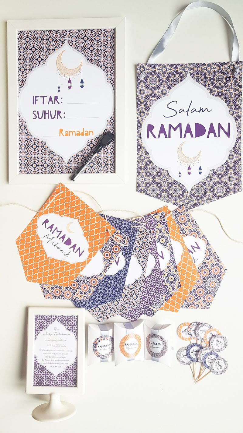 Ramadan Dekorations-Set - SUNSET Collection