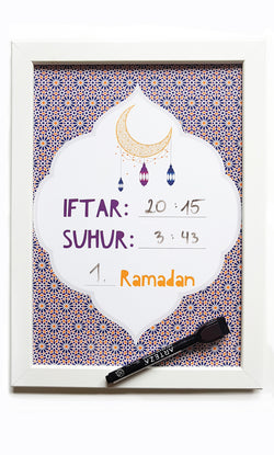Ramadan Tafel - SUNSET Collection