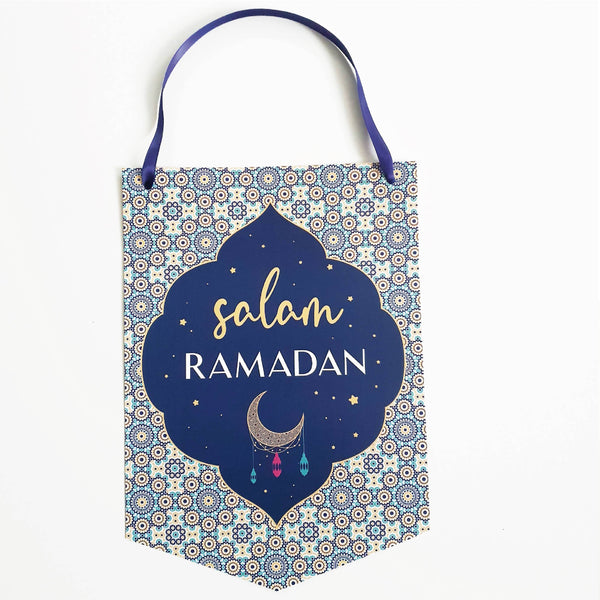 "Ramadan Hanger ""Salam Ramadan"" - PEACEFUL NIGHT Collection"