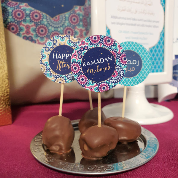 Ramadan Cupcake Topper PEACEFUL NIGHT Collection