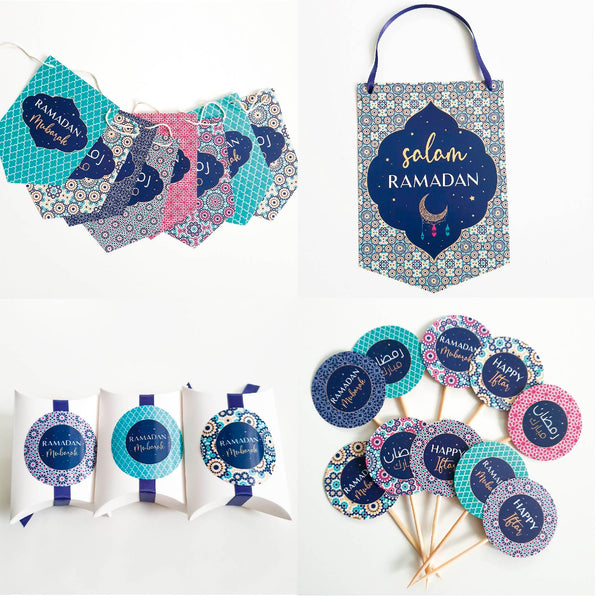 kleines RAMADAN Deko Set-PEACEFUL NIGHT Collection